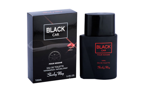 Black Car for Men EDT - 100 ML (3.4 oz) by Shirley May - Intense oud