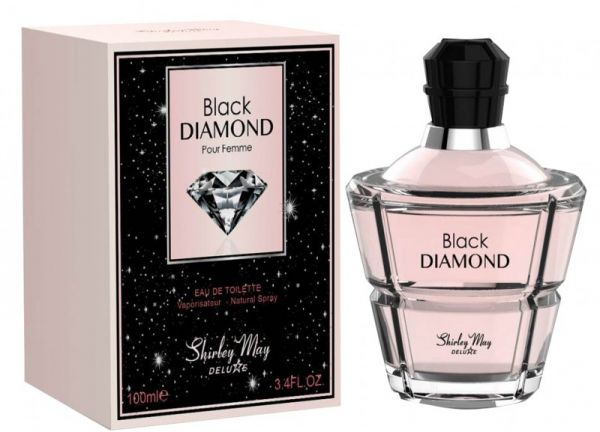 Black Diamond for Women EDT - 100 ML (3.4 oz) by Shirley May - Intense oud