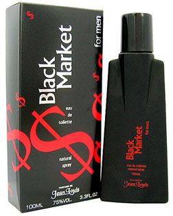 Black Market for Men EDT - 100 ML (3.4 oz) by Shirley May - Intense oud