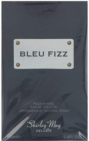 Bleu Fizz for Men EDT - 100 ML (3.4 oz) by Shirley May