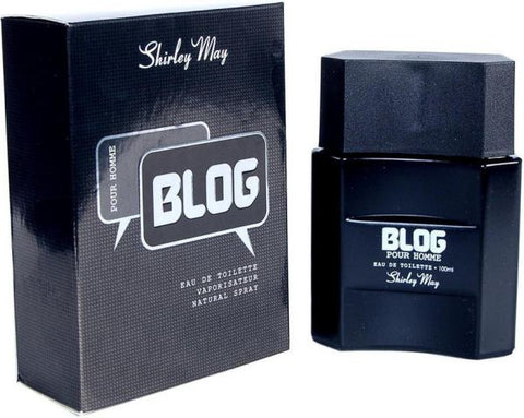 Blog for Men EDT - 100 ML (3.4 oz) by Shirley May