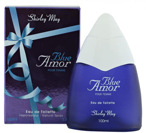 Blue Amor for Women EDT - 100 ML (3.4 oz) by Shirley May