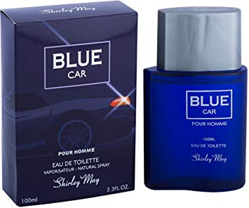 Blue Car for Men EDT - 100 ML (3.4 oz) by Shirley May