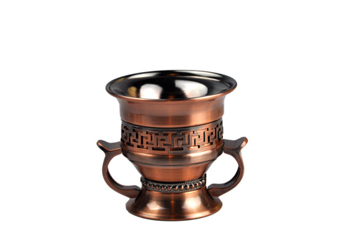 Arab Incense Bakhoor Burner Rustic - 4 inch by Intense Oud