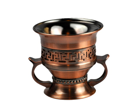 Arab Incense Bkahoor Burner Rustic - 5 inch by Intense Oud