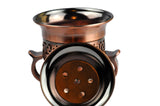 Arab Incense Bkahoor Burner Rustic - 6 inch by Intense Oud - Intense oud