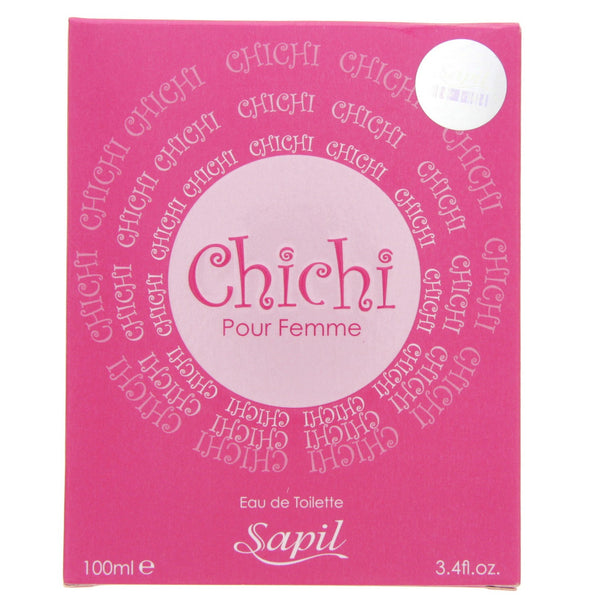 Chichi Pink for Women EDT - 100 ML (3.4 oz) by Sapil