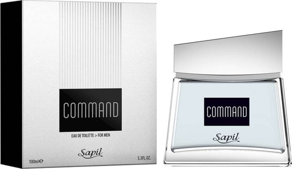Command for Men EDT - 100 ML (3.4 oz) by Sapil - Intense oud