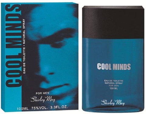 Cool Minds for Men EDT - 100 ML (3.4 oz) by Shirley May - Intense oud