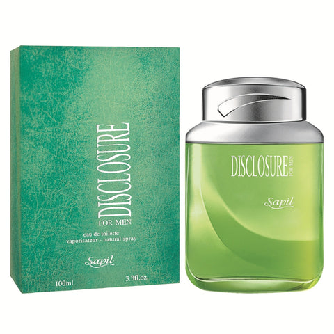 Disclosure for Men EDT - 100 ML (3.4 oz) by Sapil - Intense oud