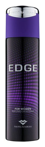 Edge for Women Deodorant - 200 ML (6.8 oz) by Swiss Arabian
