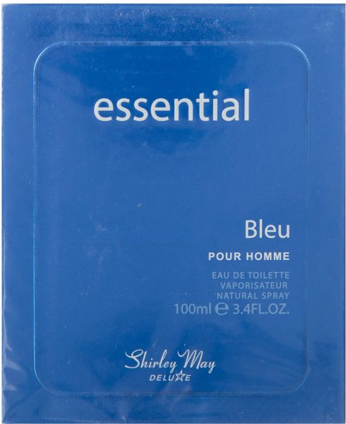 Essential Bleu for Men EDT - 100 ML (3.4 oz) by Shirley May