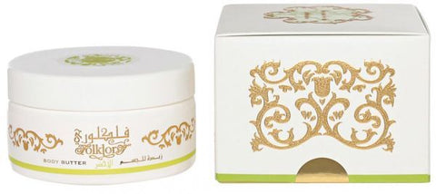 Folklory Akhdar Body Butter - 200 ML (6.8 oz) by Rasasi