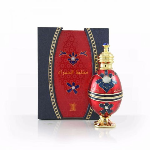 Mukhalat Al-Hamra for Women Perfume Oil- 12 ML (0.4 oz) by Arabian Oud