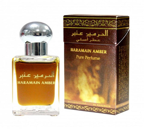 Al Haramain Amber Perfume Oil - 15 mL (0.51 oz) by Haramain - Intense oud