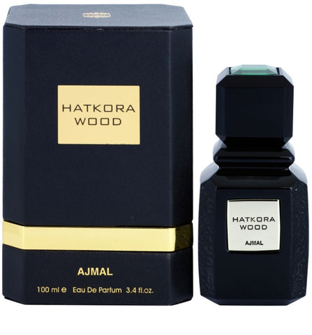 Hatkora Wood EDP - 100 mL (3.4 oz) by Ajmal