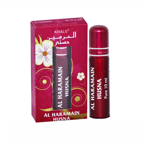 Al Haramain Husna Perfume Oil - 10 mL (0.33 oz) by Haramain