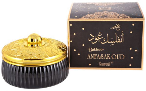 Bakhoor Anfasak Oud - 70 GM (2.5 oz) by Surrati