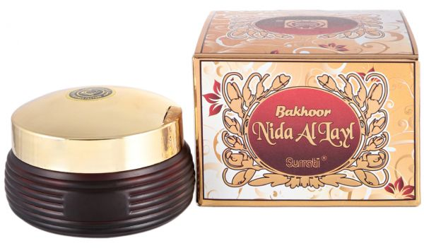 Bakhoor Nida Al Layal - 70 GM (2.5 oz) by Surrati - Intense oud