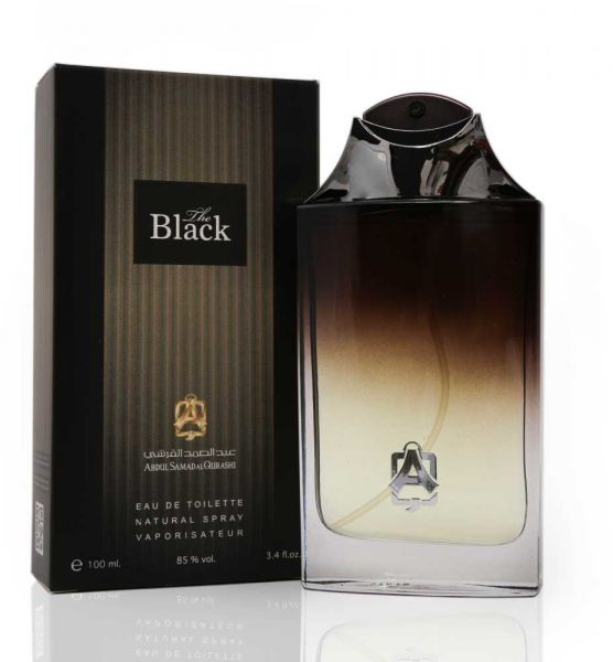 The Black for Men EDT- 100 ML (3.4 oz) by Abdul Samad Al Qurashi - Intense oud