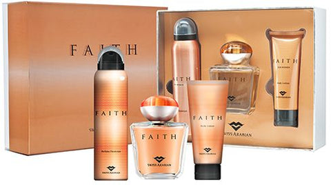 Faith 3 piece Perfume Gift Set by Swiss Arabian