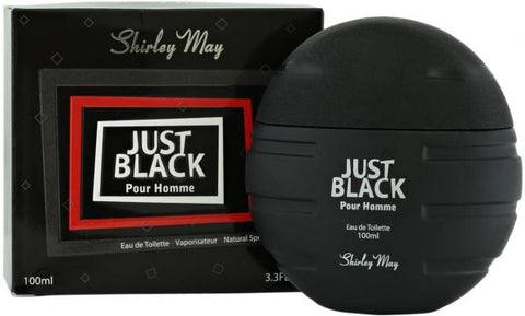 Just Black for Men EDT - 100 ML (3.4 oz) by Shirley May