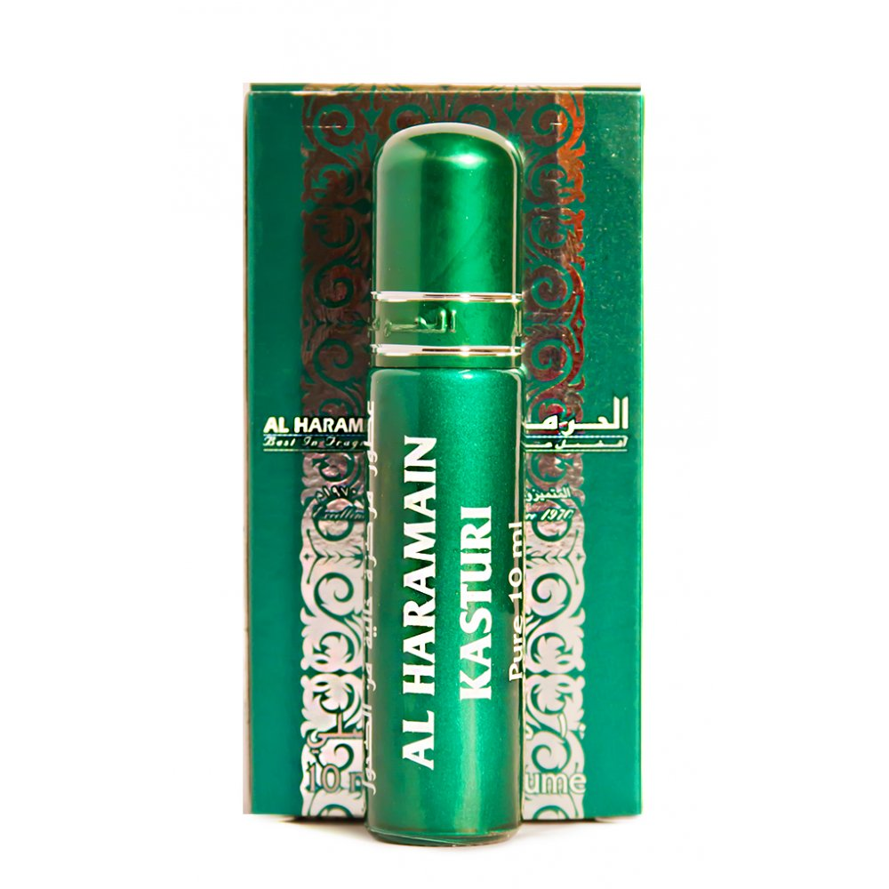Al Haramain Kasturi Perfume Oil - 10 mL (0.33 oz) by Haramain - Intense oud