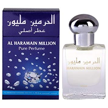 Al Haramain Million Perfume Oil - 15 mL (0.51 oz) by Haramain