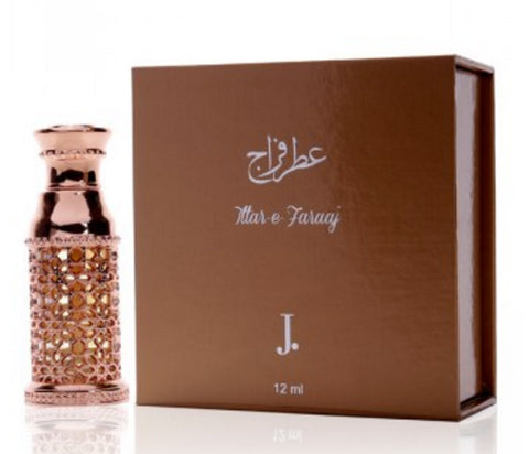 Attar E Faraj for Men Perfume Oil - 12 ML (0.4 oz) by Junaid Jamshed
