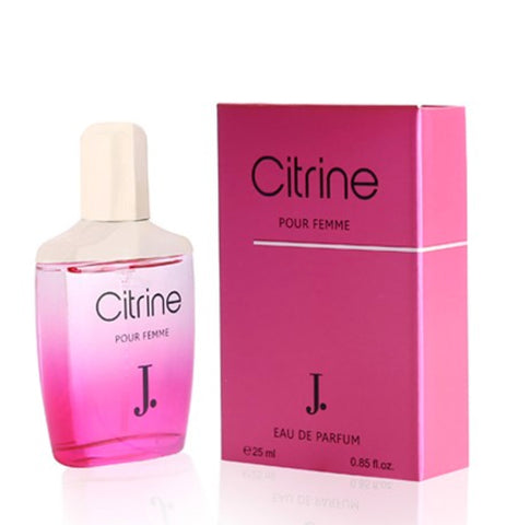 Citrine for Women EDP- 25 ML (0.85 oz) by Junaid jamshed - Intense oud