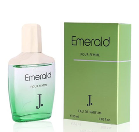 Emerald for Women EDP- 25 ML (0.85 oz) by Junaid jamshed - Intense oud