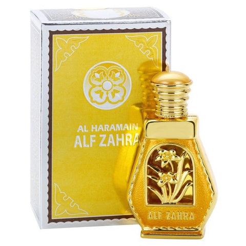 Alif Zahra for Women Perfume Oil - 15 ML (0.5 oz) by Al Haramain