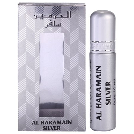 Al Haramain Silver Perfume Oil - 10 mL (0.33 oz) by Haramain