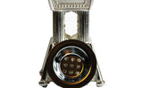 Arab Incense Bakhoor Burner - 6 inch Silver by Intense Oud - Intense oud