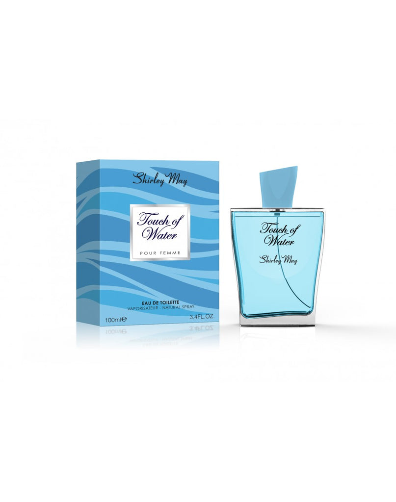 Touch of Water for Women EDT - 100 mL (3.4 oz) by Shirley May - Intense oud