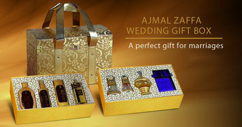 Zaffa Wedding Gift Set for Couple by Ajmal