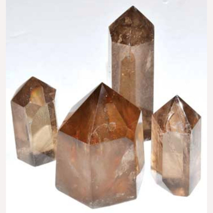 "1 1/2""+ Smoky Quartz obelisk"