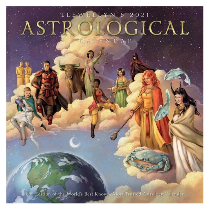 2021 Astrological Calendar by Llewellyn