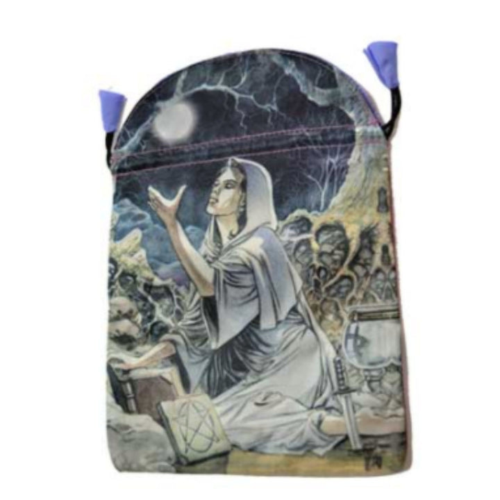 "6"" x 9"" Drawing Down the Moon Tarot Bag by Lo Scarabeo"
