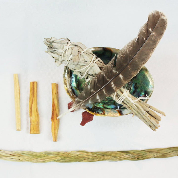 Deluxe Sacred Smudging Ritual Kit