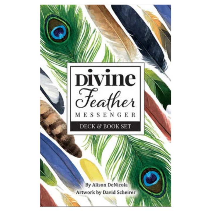 Divine Feather Messenger by Wulfing Von Rohr
