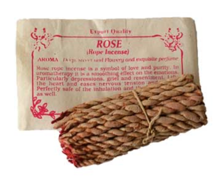 Rose Tibetan Himalayan Rope Incense
