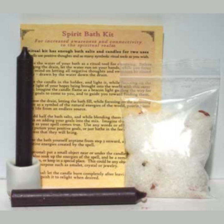 Spirit bath kit