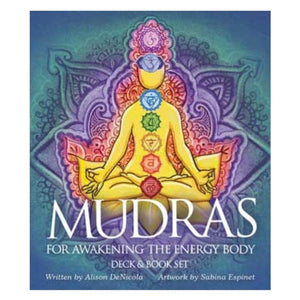 Mudras for awakening the Energy Body deck & book by Denicola & Espinet