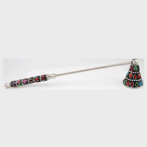 Multi-Color Jeweled candle snuffer