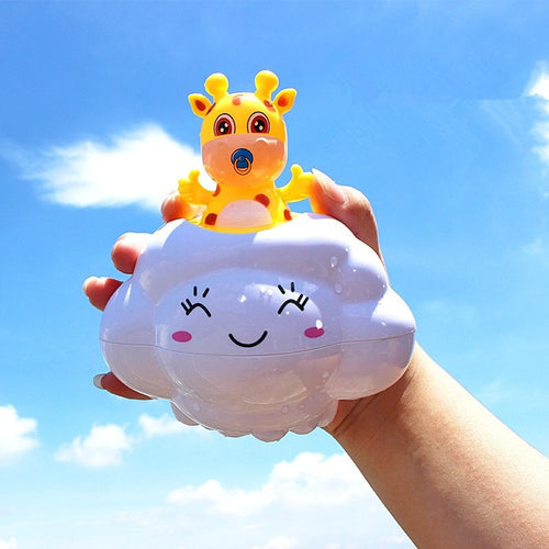 1pc Cute Cartoon Design Baby Animal Bath Toys Bathroom Shower Beach Play Water Funny Classic Kid Educational Toys Gifts #YL