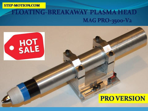 MAGNETIC BREAKAWAY FLOATING  35 MM TORCH HEAD CNC PLASMA MAG PRO 3500-V2