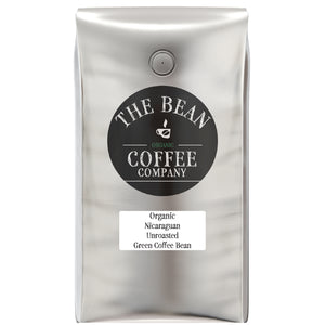 Organic Unroasted Green Coffee Beans, Nicaraguan