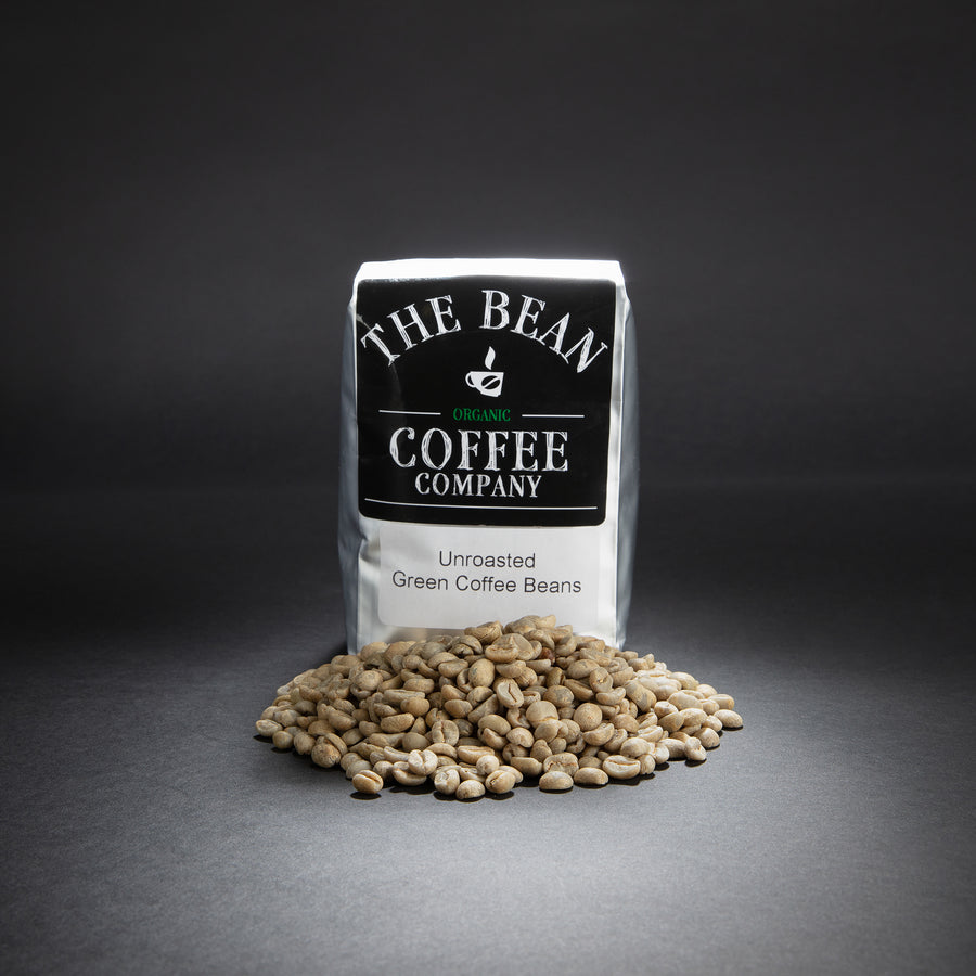Organic Unroasted Green Coffee Beans, Sumatran