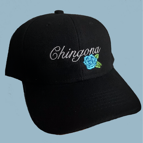 Inspired Latina Baseball Cap: Chingona Blue or Red
